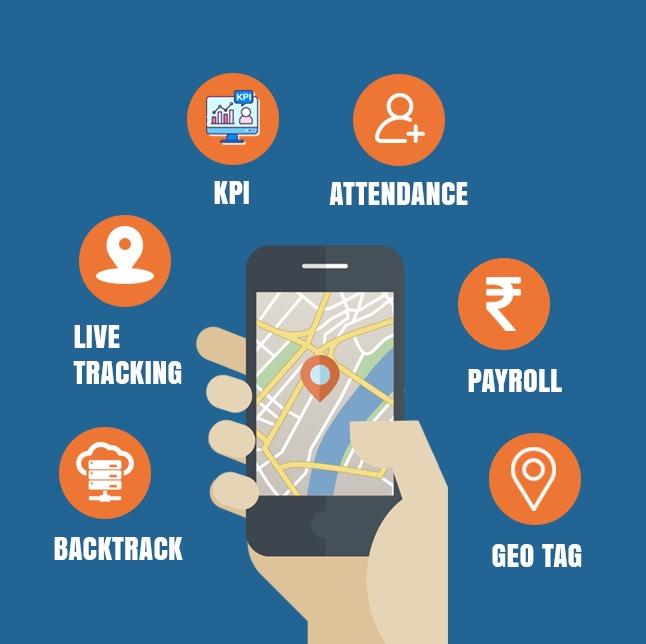 employee tracking,Distance Calculator, Backtrack